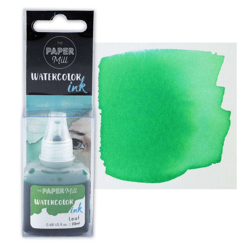 The Paper Mill Watercolour Ink Leaf 20ml