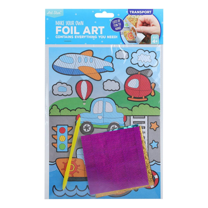 Art Star Create Your Own Foil Art Picture Transport