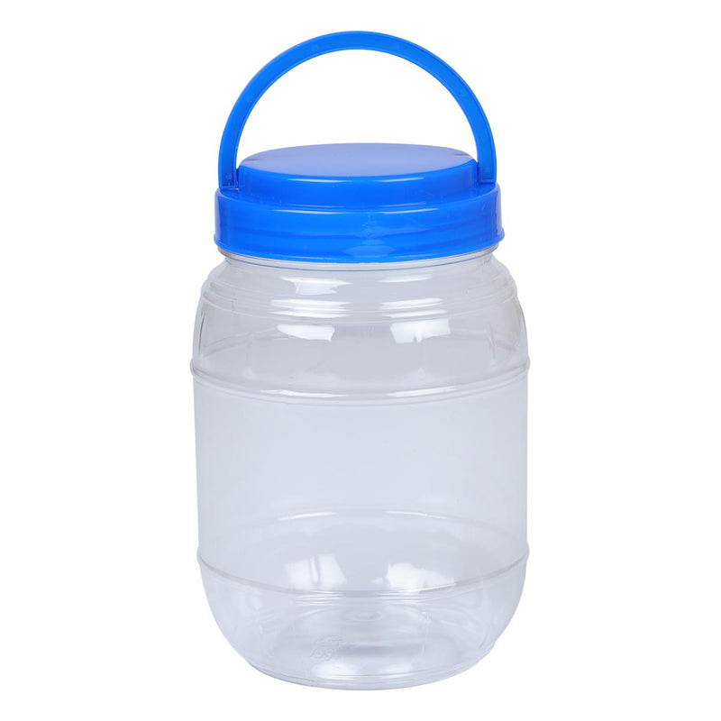 Dodger Blue Craftmate Storage Barrel with Lid Craft Storage
