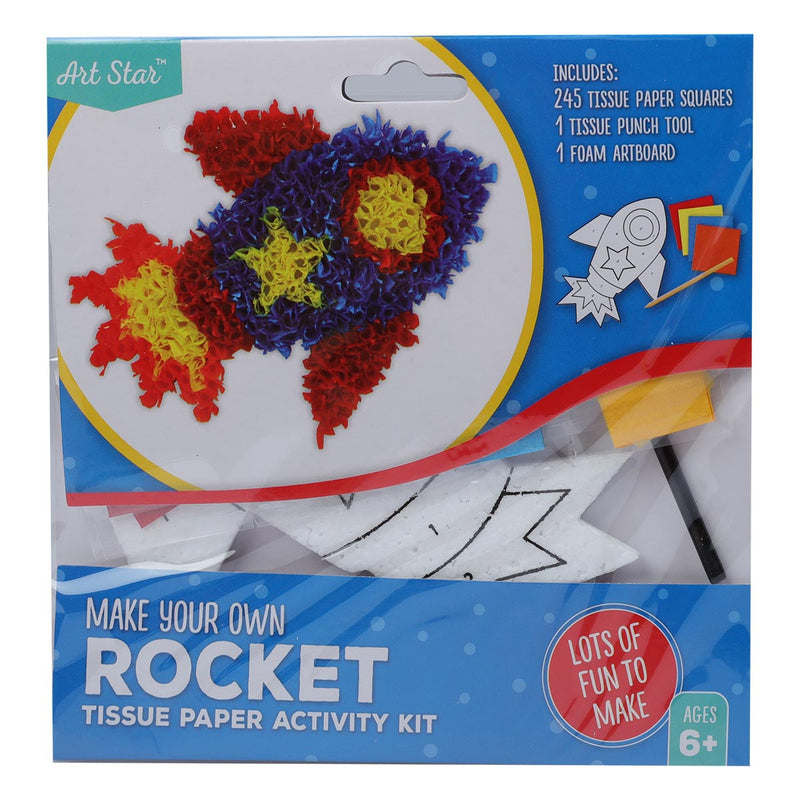Tissue Paper Activity Kit - Rocket