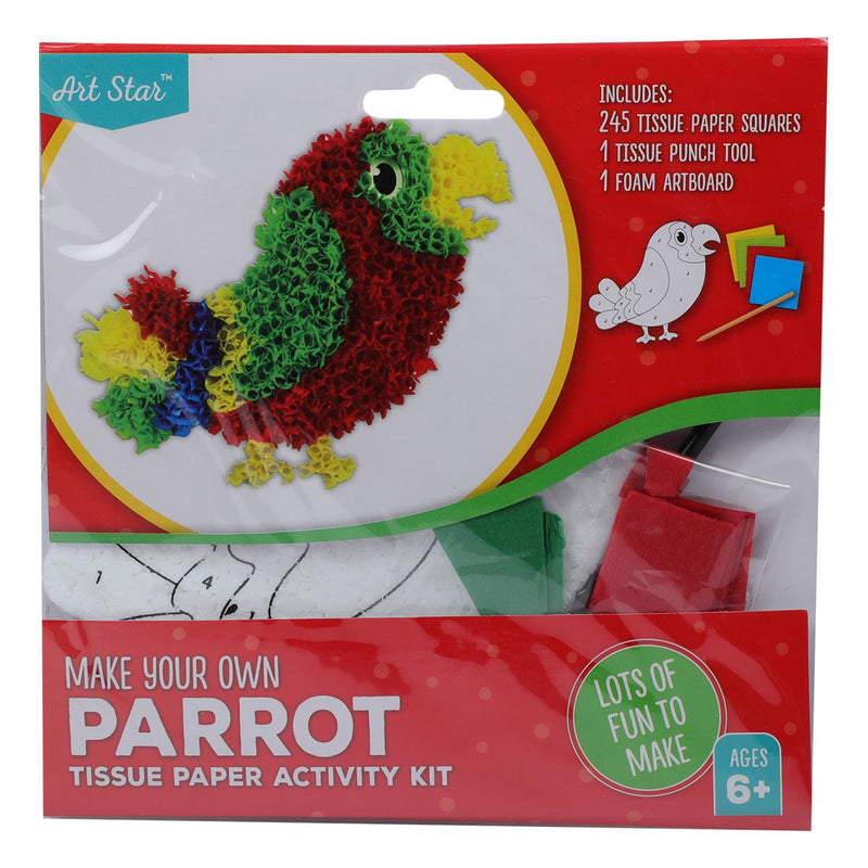 Tissue Paper Activity Kit - Bird
