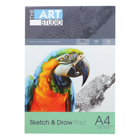 The Art Studio A4 Sketch & Draw 150gsm 30 Sheets