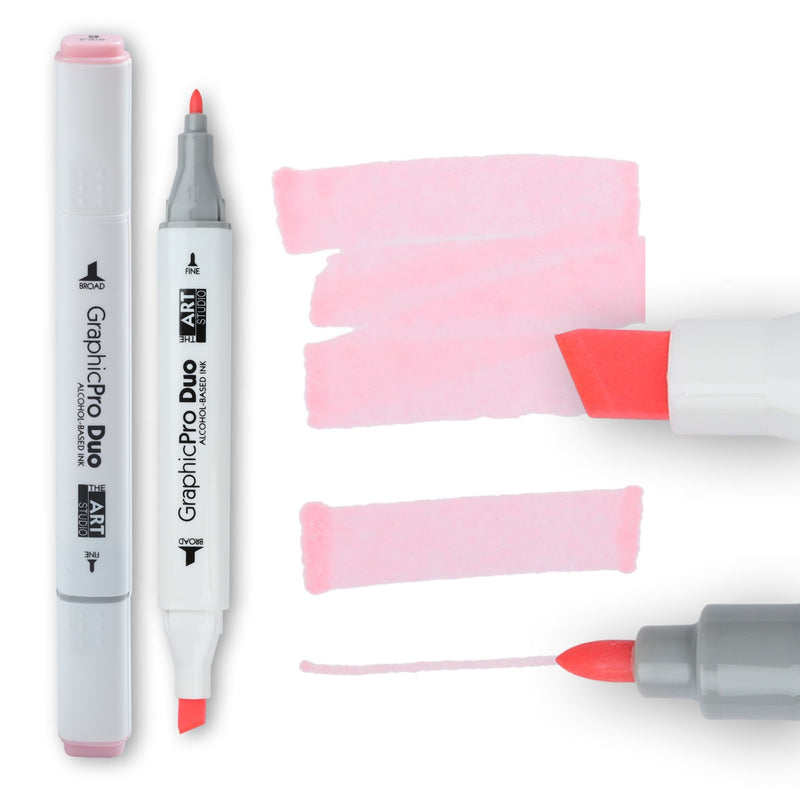 The Art Studio GraphicPro Duo Marker Pale Pink