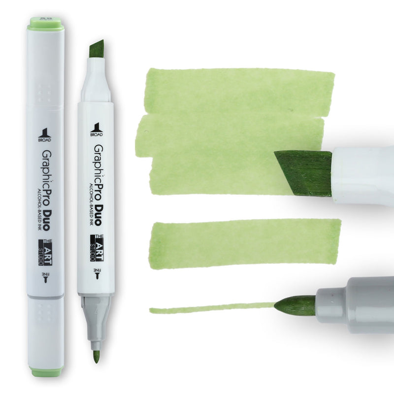 The Art Studio GraphicPro Duo Marker Pale Green