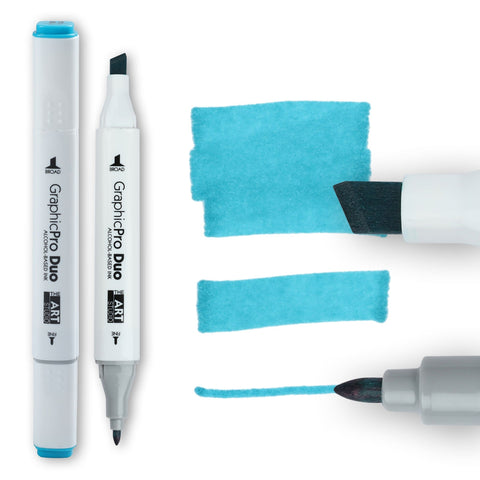Graphic ProDuo Marker- Cerulean Blue