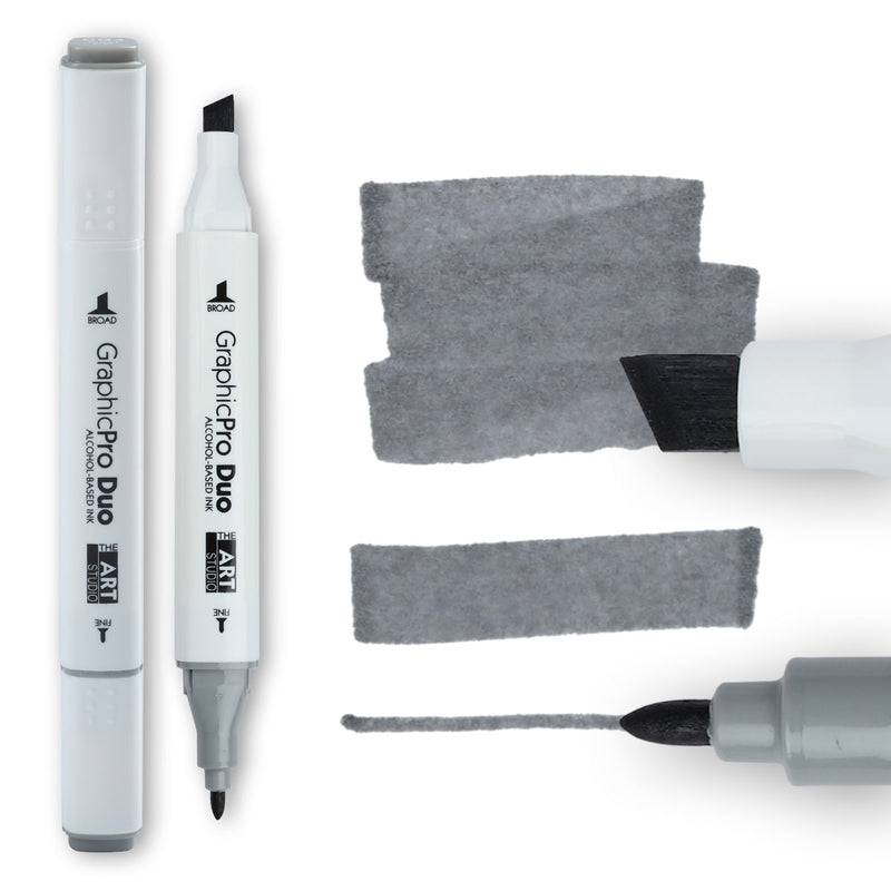 The Art Studio GraphicPro Duo Marker Cool Grey 4