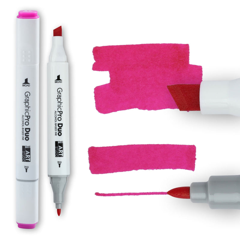 The Art Studio GraphicPro Duo Marker Azalea Purple
