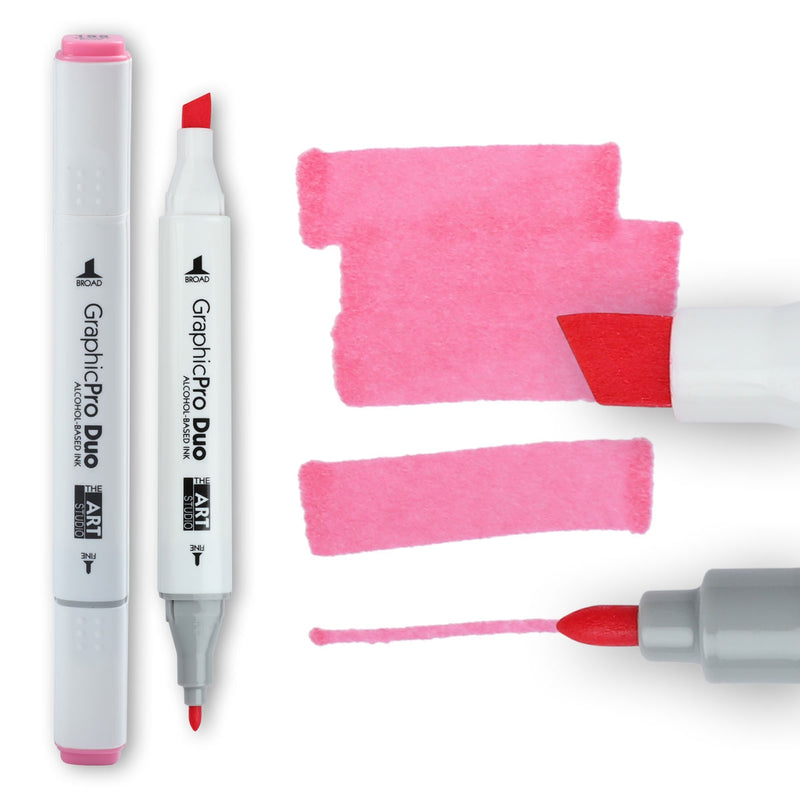 The Art Studio GraphicPro Duo Marker Tender Pink