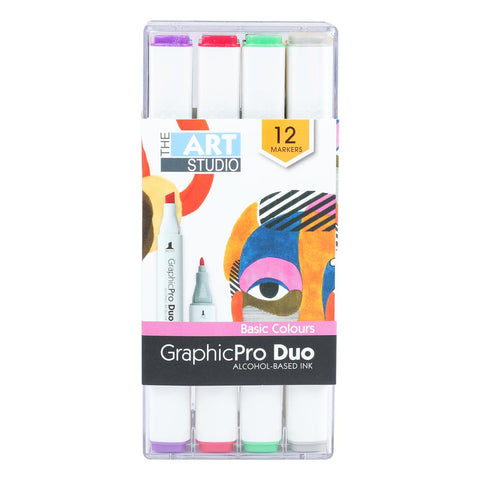 Graphic ProDuo Marker12pk- Basic Colours