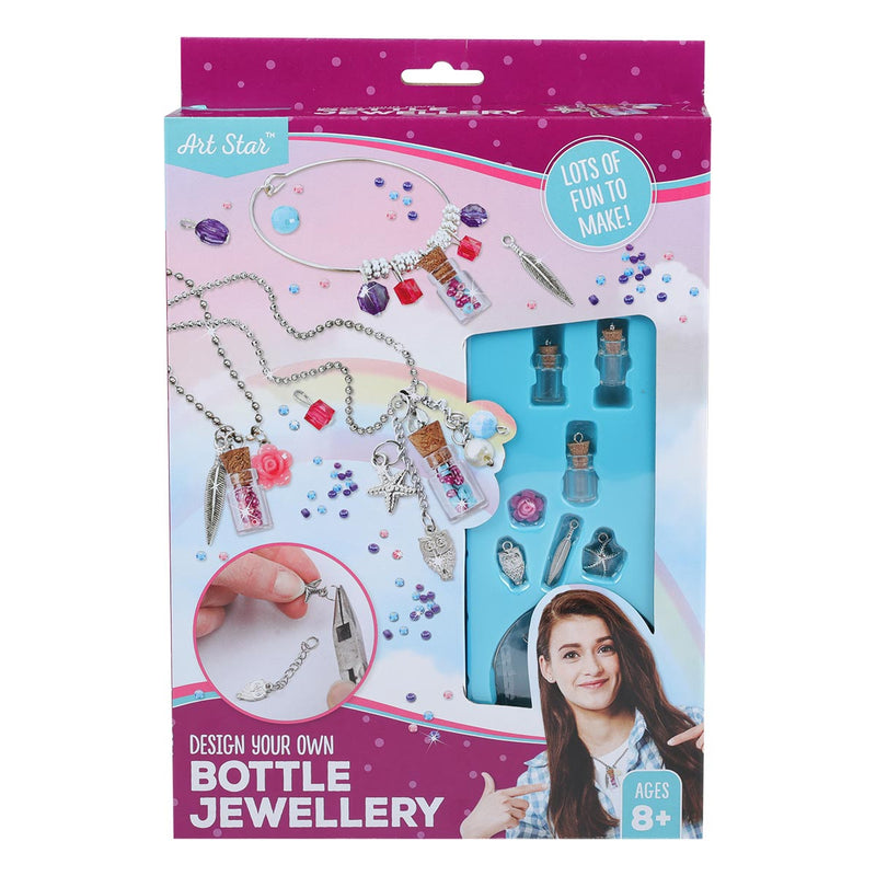 Art Star Design Your Own Bottle Jewellery Kit