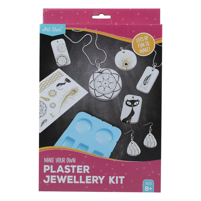 Art Star Make Your Own Plaster Jewellery Kit