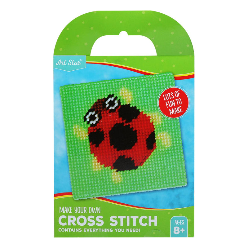 Artstar MYO Ladybird Cross Stitch Kit Makes 1