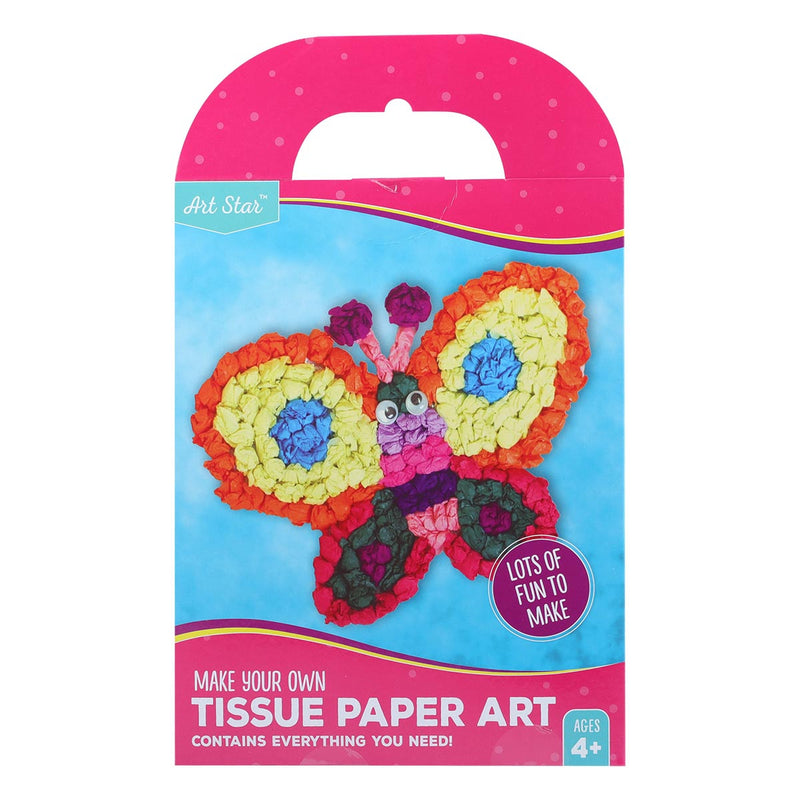 Artstar MYO Butterfly Tissue Paper Art Makes 1