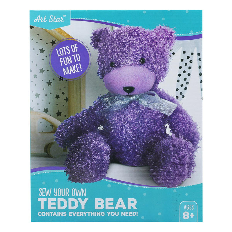Make Your Own Purple Teddy Bear Activity Kit
