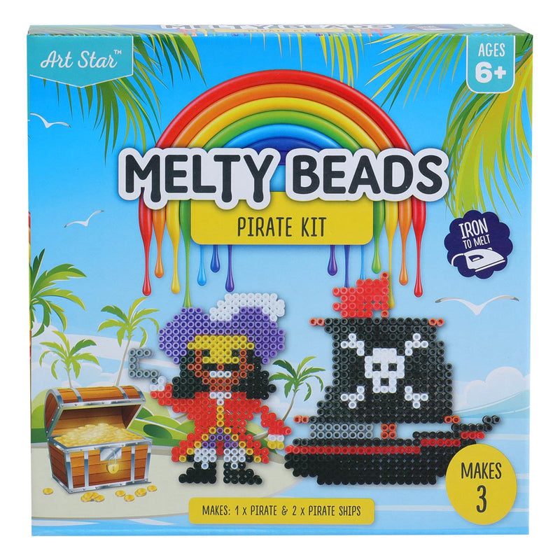 Art Star Melty Beads Pirate Kit Makes 3