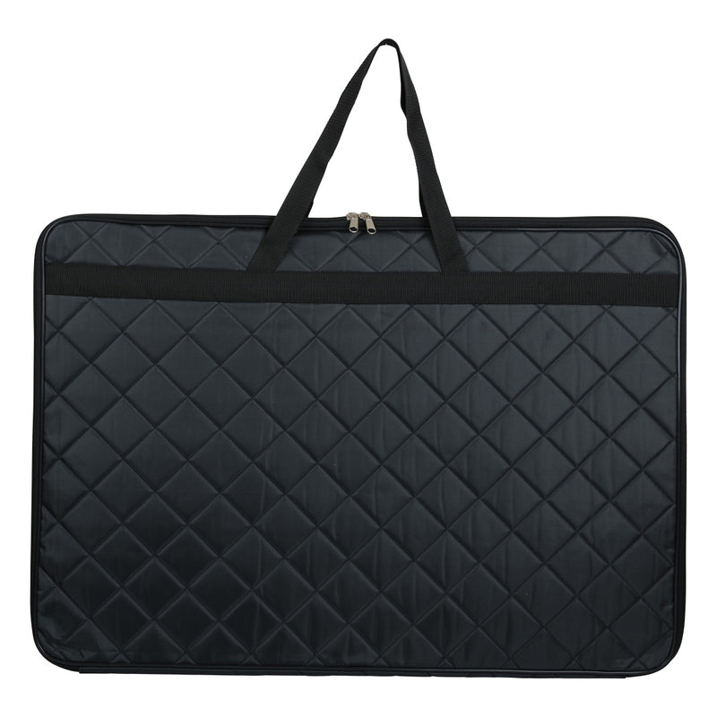 Dark Slate Gray The Art Studio Quilted A2 Portfolio Carry Case Folios