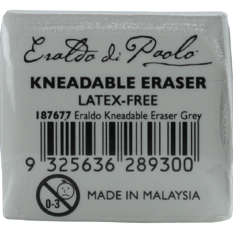 Eraldo Di Paolo Kneadable Eraser For Pastels Pencils Graphite and Charcoal  Grey