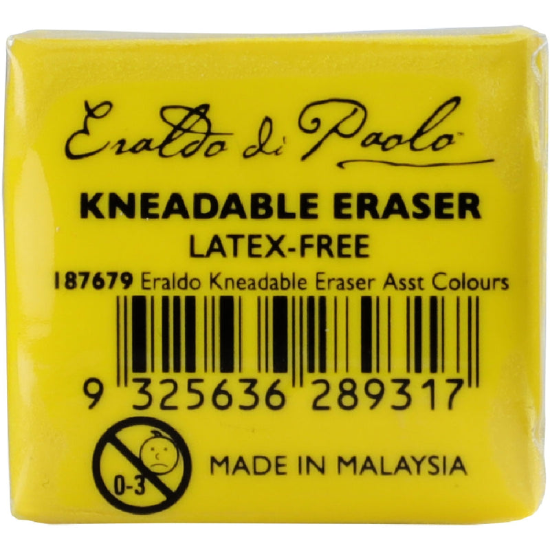 Eraldo Di Paolo Kneadable Eraser For Pastels Pencils Graphite and Charcoal Assorted Colours