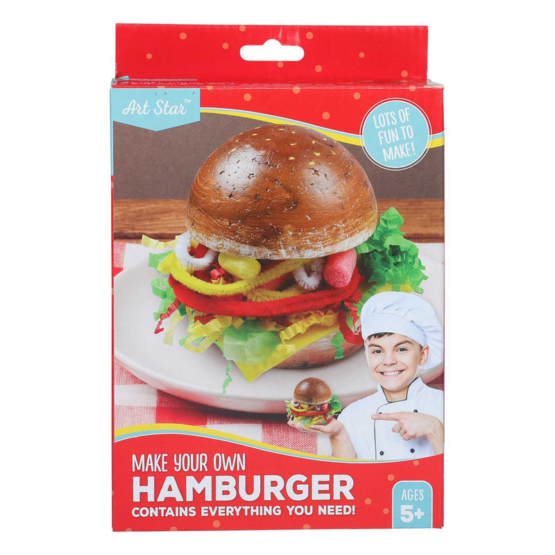 Art Star Make Your Own Hamburger Kit