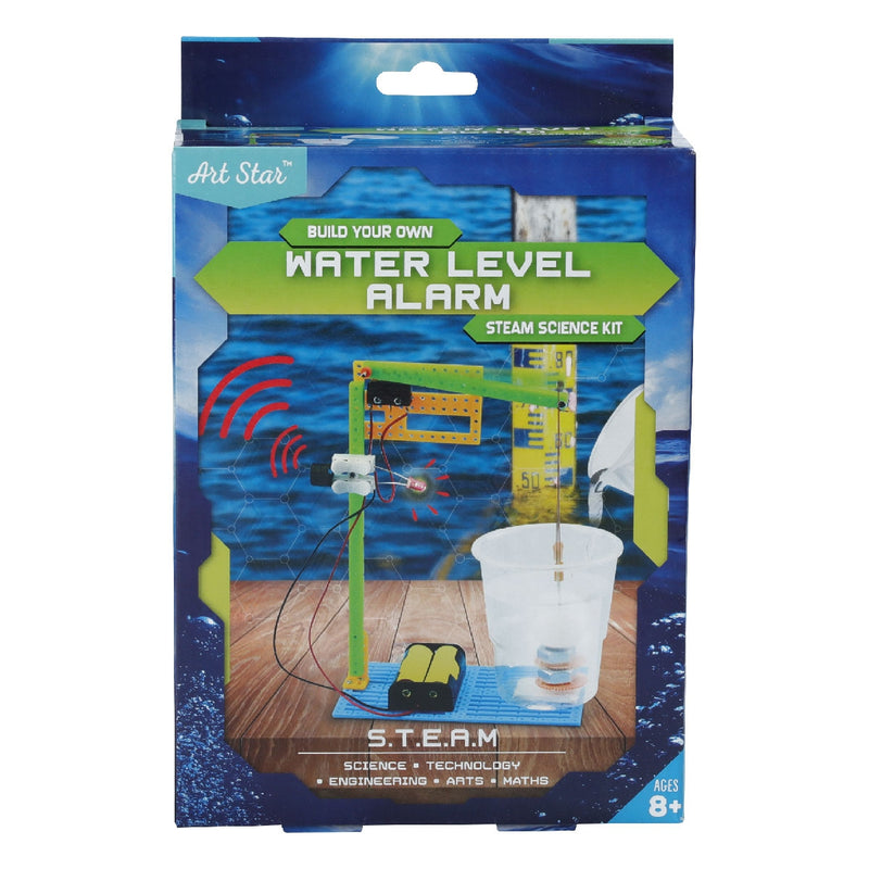 Art Star Build Your Own Water Level Alarm STEAM Science Kit