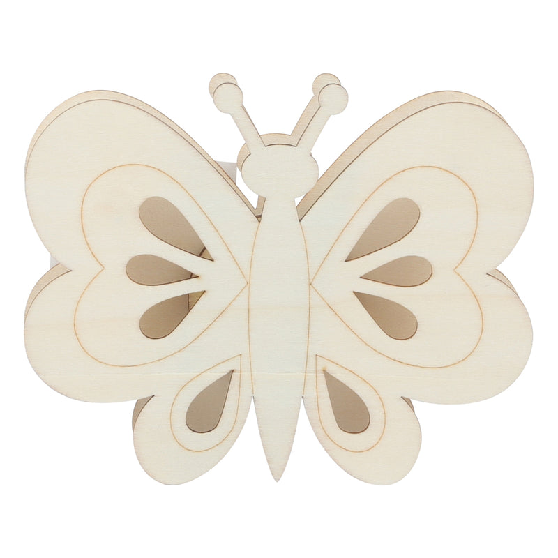 Urban Crafter Light Up Plywood Butterfly with LED Light