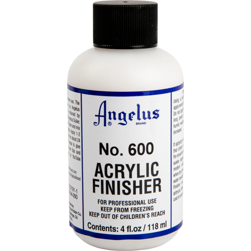 Gray Angelus Acrylic Flexible Clear Finish