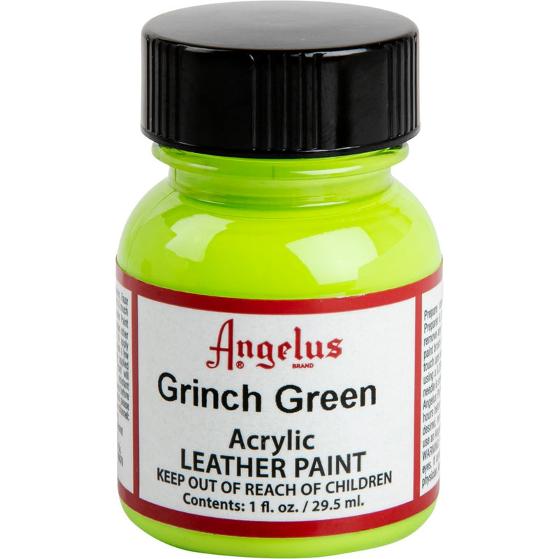 Green Yellow Angelus Acrylic Paint Grinch Green