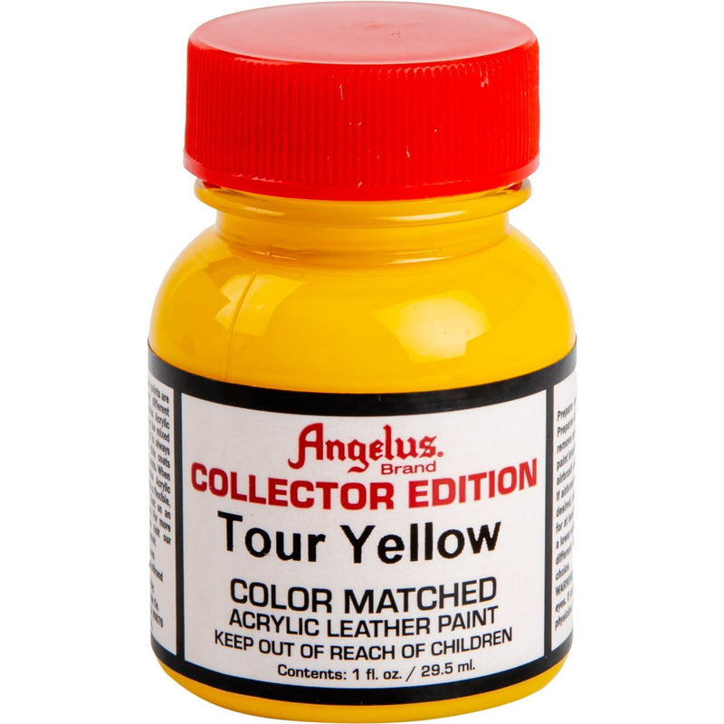 Orange Angelus Collectors Edition Acrylic Paint 2 Tour Yellow 29Ml For Leather, Vinyl, Fabric Acrylic