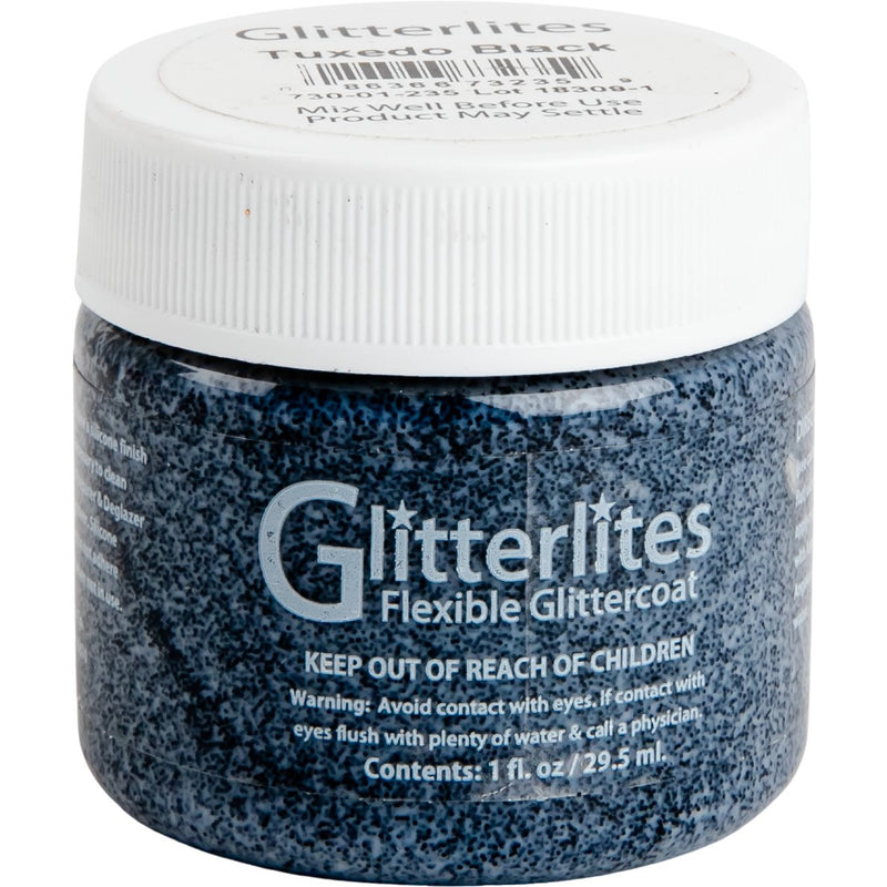 Lavender Angelus Glitterlite Acrylic Paint Tuxedo Black Paint 29Ml Acrylic