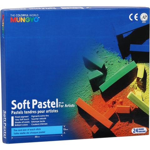 Mungyo Square Pastels Full Size Set of 24