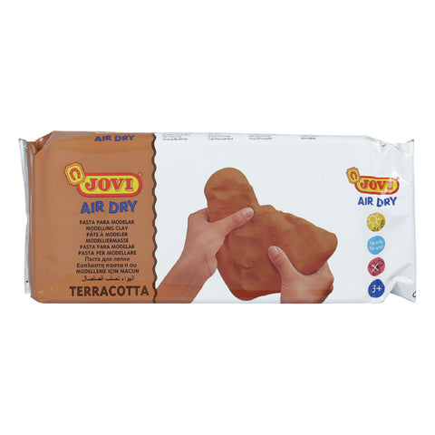 Jovi Modelling Paste Air Dry 1kg Terracotta