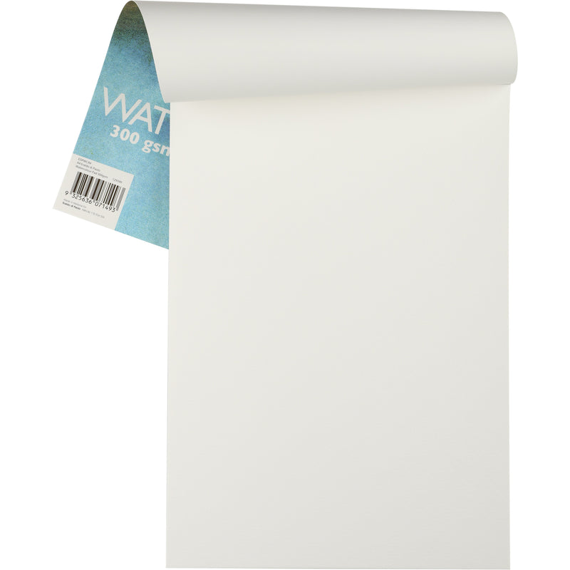 Beige Eraldo Di Paolo Watercolour Pad Cold Pressed 300g A4  10 Sheets Pads