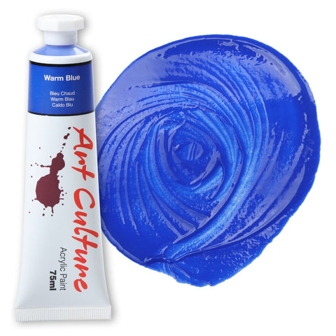 Art Culture Acrylic Paint 75ml - Warm Blue