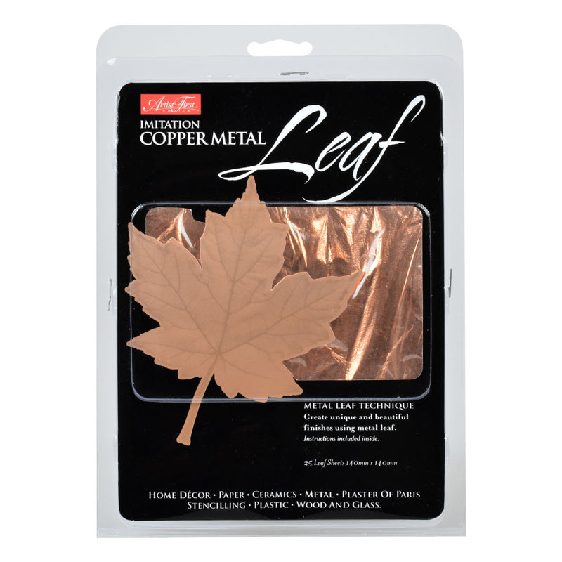 White Smoke Artist First Choice Copper Metal Leaf Composition 25 Sheets Gold Leaf And Accessories