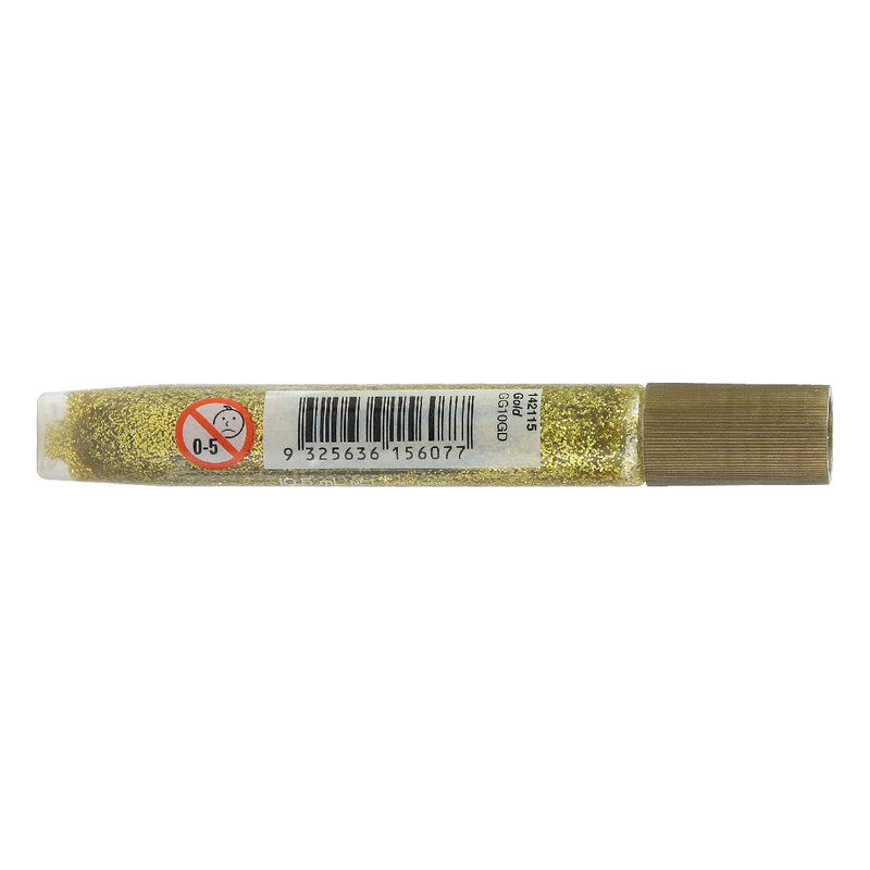 Art Star Glitter Glue Tube 5ml 10 Gold