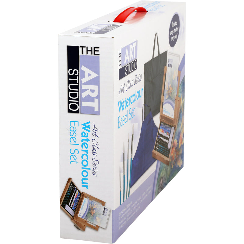 The Art Studio Art Class Series Watercolour Easel Set