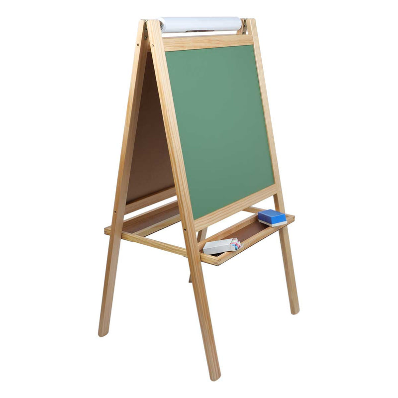Slate Gray Tim & Tess 3 in 1 Activity Easel Kids Easels
