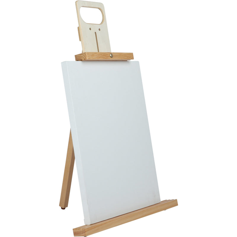 Light Gray The Art Studio DUO Table Top Studio Easel Easels And Cases