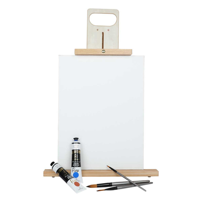 Tan The Art Studio DUO Table Top Studio Easel Easels And Cases