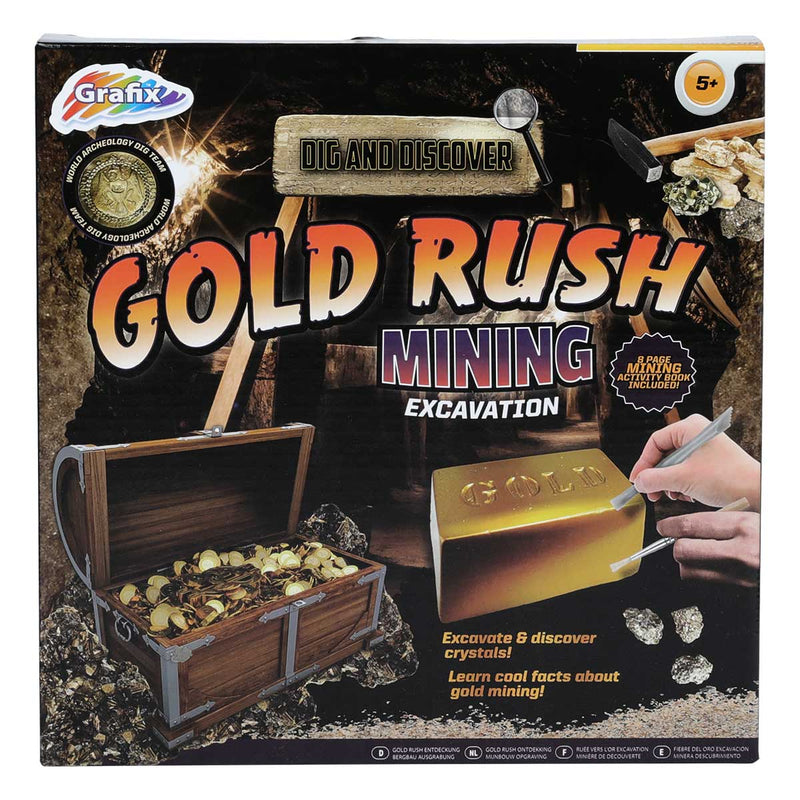 Dig and Discover Gold Rush
