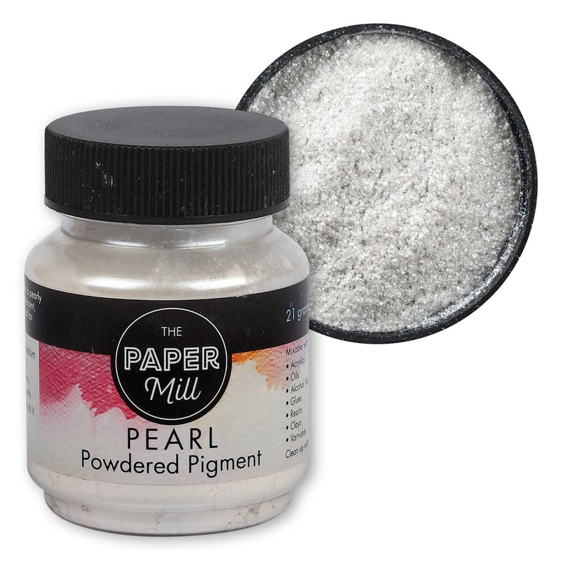 Gray The Paper Mill Pearl Powdered Pigment Micro Pearl 21g Pigments