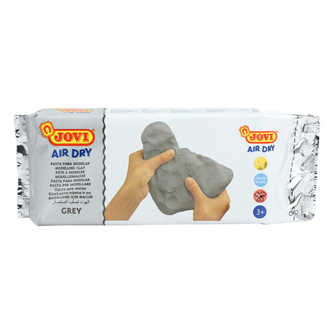 Jovi Air Dry Modelling Clay Grey 1kg