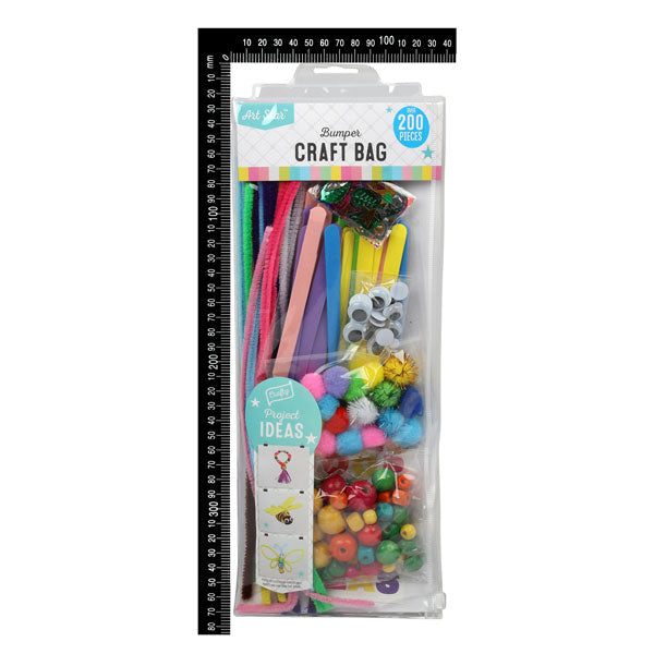 Art Star Kids Bumper Craft Bag 200 Pieces