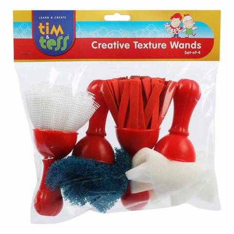 Creative Texture Wands Set Of 4