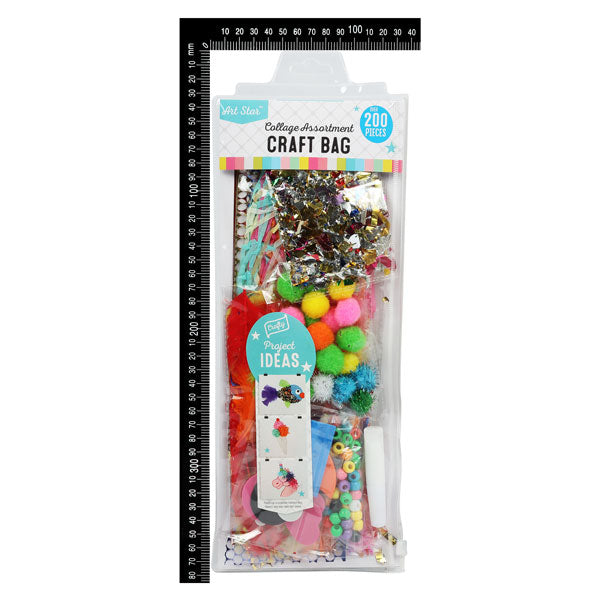 Art Star Kids Collage Bumper Craft Bag