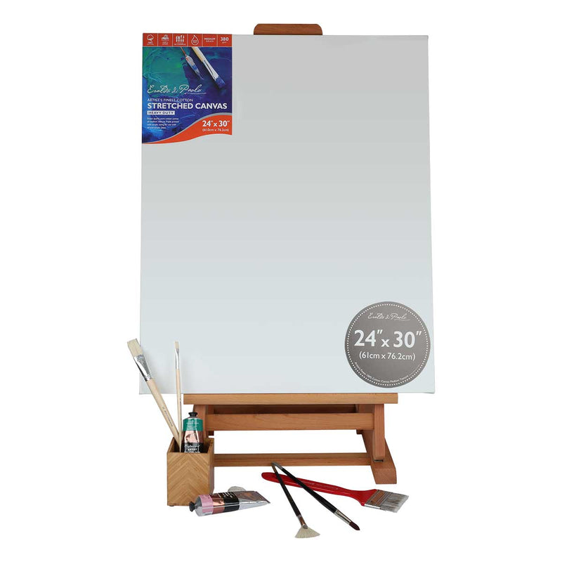 Light Gray Eraldo Di Paolo Deluxe Table Easel* Easels And Cases