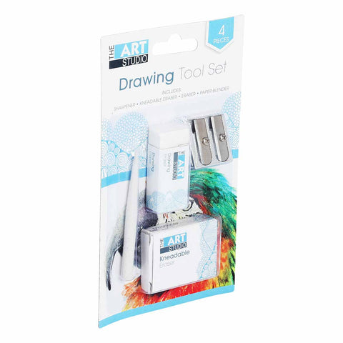 The Art Studio Drawing Tools 4 Pieces