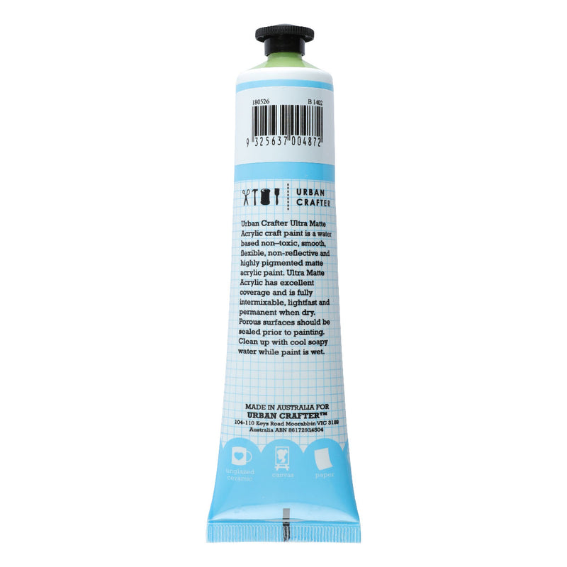 Urban Crafter Ultra Matte Acrylic Paint 75ml Leaf S1 ASTM1 Transparent