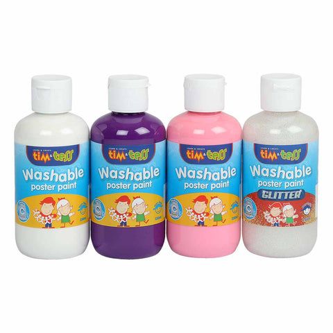 Tim & Tess Unicorn Colour Paint Set 4 x 250ml