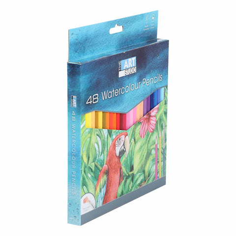 The Art Studio Premium Water Colour Pencils 48 Pack